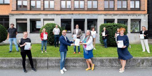 MINT-Zertifikatsverleihung bei der HTL Bregenz.