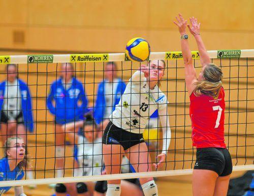 Mit 193 Punkten in 16 Spielen (Schnitt 12,1 pro Spiel) hatte Lina Hinteregger maßgeblichen Anteil am Meistertitel des VC Raiffeisen Dornbirn.VN/Lerch