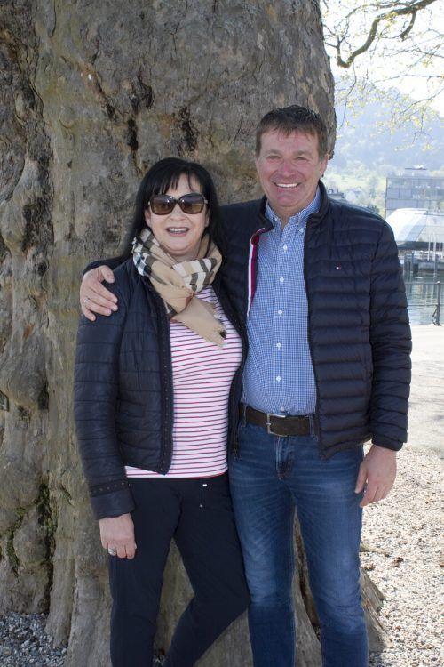 Mit dabei: Karin und Heinz Haag (Kiosk bei der Mili).