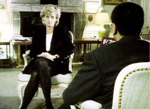Mit dem Interview im Jahr 1995 mit Reporter Martin Bashir sorgte Prinzessin Diana weltweit für Aufsehen. PA
