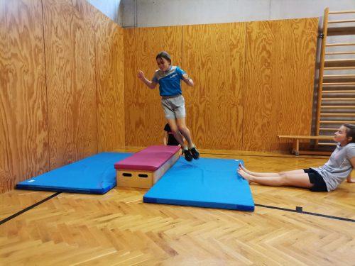Mit Elan starteten die Schülerkaderläufer ins Sommertraining. Sc Klostertal