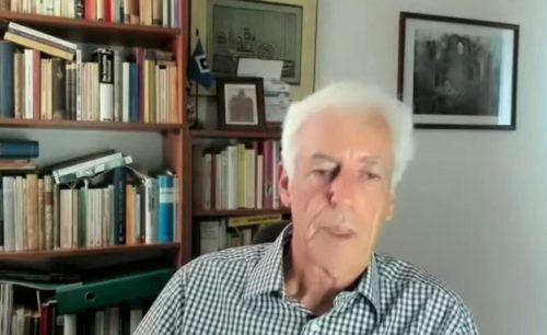Moshe Zimmermann, Historiker.