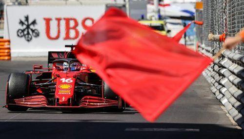 Motorschaden bei seinem Ferrari im erstenTraining, Bestzeit im zweiten: Charles Leclerc hofft beim Heimrennen in Monaco auf das Ende der Pechserie. apa