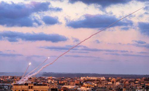 Nach Angaben des Militärs wurden bisher mehr als 3300 Raketen auf Ortschaften in Israel abgefeuert. AFP