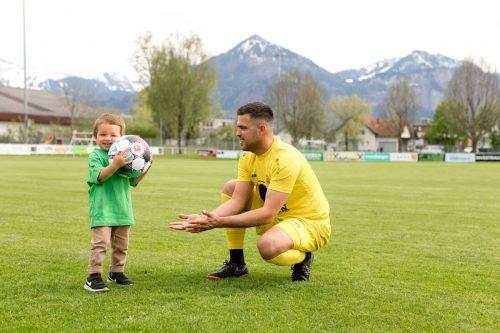 Nach dem kleinen Matteo, dem Sohn von DSV-TorwartKevin Fend, ist das Crowdfunding-Projekt benannt.Verein