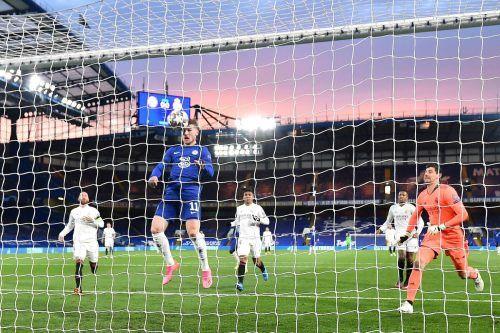 Nach einem Lattentreffer von Havertz war Timo Werner mit dem Kopf zur Stelle und erzielte kurz vor der Pause den Führungstreffer für Chelsea.afp