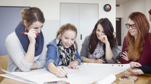Neben der Arbeit in den sozialen Einrichtungen ist der wöchentliche Kurs in Götzis fixer Bestandteil des Freiwilligen Sozialjahres.