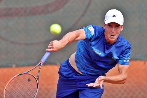 Neben Weltklasse-Doppelspieler Philipp Oswald ist auch Ex-Daviscupspieler Martin Fischer (Bild) in dieser Saison beim TC ESV Feldkirch gemeldet. GEPA