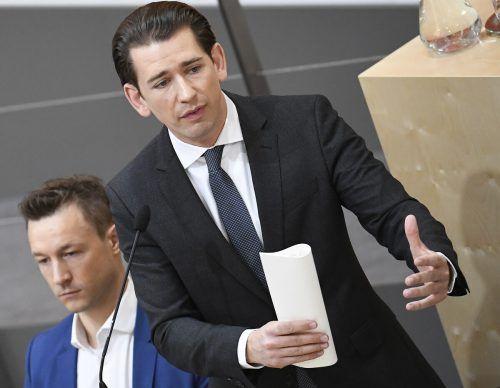 Opposition will in heutiger Sondersitzung des Nationalrates Kanzler Kurz und Finanzminister Blümel in Bedrängnis bringen. APA