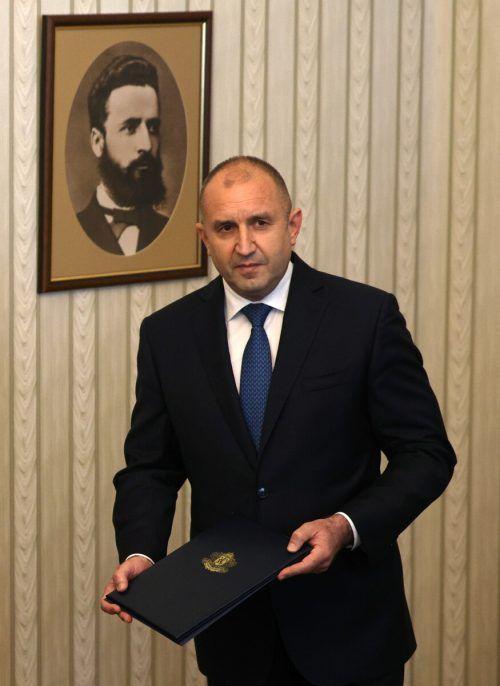 Präsident Radew will eine Interimsregierung ernennen. reuters