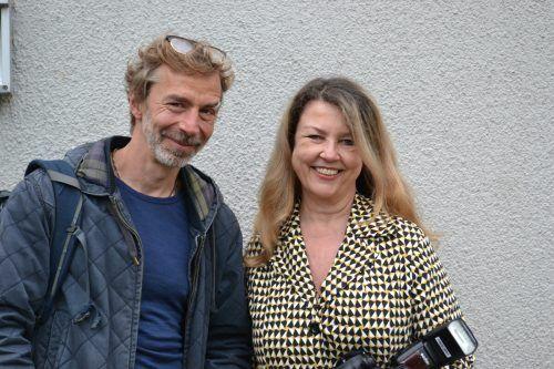 Premierengäste: Jens Ole Schmieder und Yasmin Ritter.