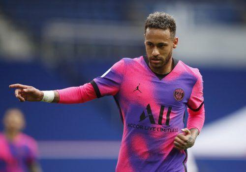 PSG-Stürmer Neymar hat mit martialischen Sprüchen eine Kampfansage geliefert.Reuters