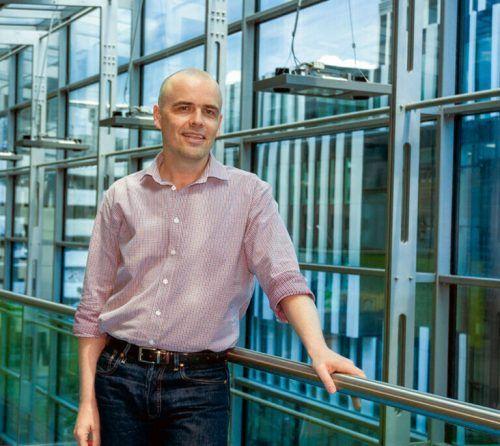 Sasha Mendjan forscht am Institut für Molekulare Biotechnologie. ÖAW