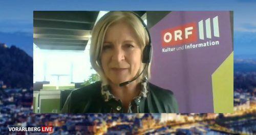 Seit 2017 ist die gebürtige Bludenzerin Ingrid Thurnher Chefredakteurin des Spartensenders ORF III, der kulturelle Themen im Fokus hat.