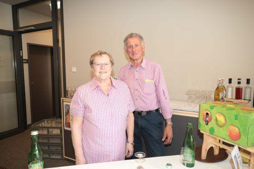 Silvia und Herbert Bickel von der Mostschenke.