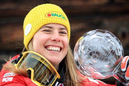 Slalom-Ass Katharina Liensberger.GEPA