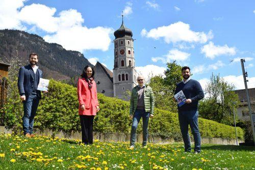 SOÖ-Präsident Peter Ritter (Mitte) und Geschäftsführerin Beatrice Amann statteten der Stadt Bludenz Anfang Mai einen Besuch ab.Stadt