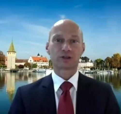 Stegmann war aus Lindau zugeschaltet.
