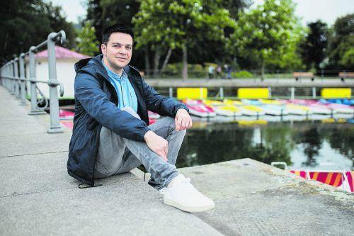 Stephan Sigg hat erstmals ein Buch über seine Heimatregion, den Bodensee, geschrieben. Ana Kontoulis
