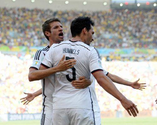 Thomas Müller und Mats Hummels feiern ihr Comeback im DFB-Team.apa