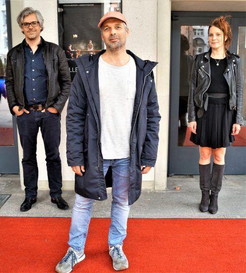 Tilman und Niklas Ritter mit Ines Burisch. YAS/6