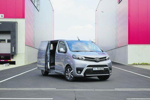 Toyota Proace mit Elektroantrieb und 136 PS Leistung.werk