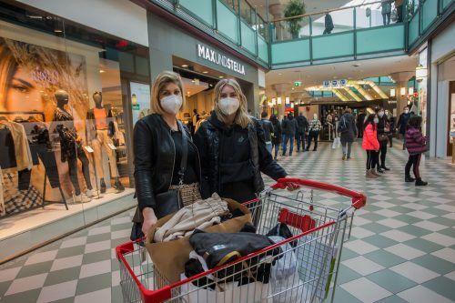 Trotz Corona und den damit verbundenen Einbußen sind die Shops im Messepark mit der Frequenz und dem Geschäft österreichweit am zufriedensten.VN/Steurer