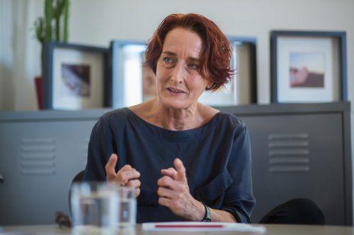 Ulrike Furtenbach, Leiterin der Gewaltschutzstelle des IfS.VN/ps