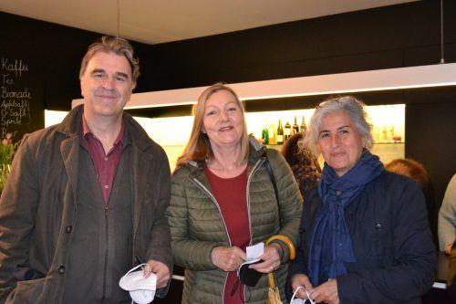 Viktor Olmos, Marie-Rose Rodewald, Gloria Ochoa.