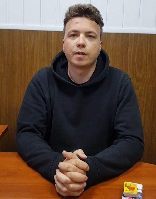 Von Protasewitsch wurde ein Video veröffentlicht. AFP/Telegram Channel Nevolf