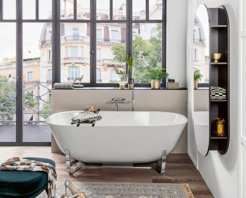Wer sein Bad clever plant, der findet auf jeden Fall die richtige Badewanne. epr/Villeroy & Boch