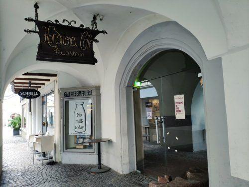 Wer den Zuschlag für die Pacht des traditionsreichen Kaffeehauses bekommt, wird das Feldkircher Stadtratsgremium voraussichtlich Ende Monat entscheiden. VN/MIH