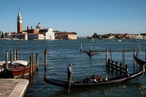 Zwar geht es in der Lagunenstadt Venedig noch vergleichsweise ruhig zu, doch in Italien soll der Tourismus nun langsam wieder anlaufen.AFP