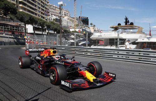 Zwischen den Häuserfluchten und dem Hafen bleibt den Formel-1-Piloten in Monte Carlo wenig Platz für Überholmanöver.Reuters