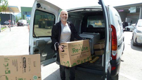 1200 kg an Elektrogeräten und Haushaltsgegenständen wurden beim Re-Use-Sammeltag abgegeben. Gde