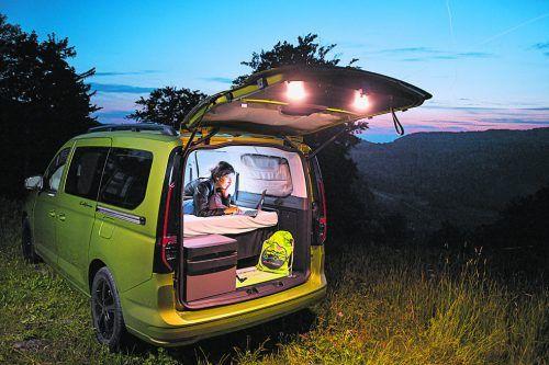 Als California macht der VW Caddy auf allen Terrains wohnlich-komfortable und agil-kompakte Figur. Werk