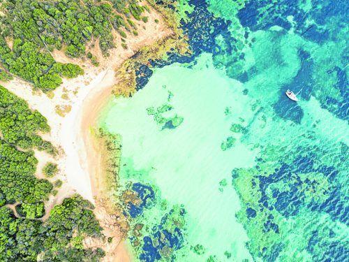 An der Costa Smeralda fühlt man sich schon fast wie in der Karibik.Shutterstock