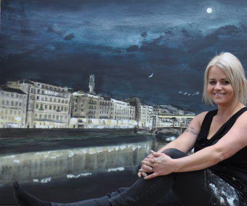 Angelika Domenig kann in Florenz gerade einen Publikumserfolg feiern. Domenig