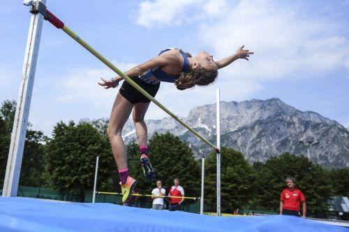 Angelina Rupp von der TS Hörbranz sorgte bei den ÖLV-Mehrkampftitelkämpfen in Villach mit Silber im U-18-Siebenkampf für das herausragende VLV-Resultat.gepa