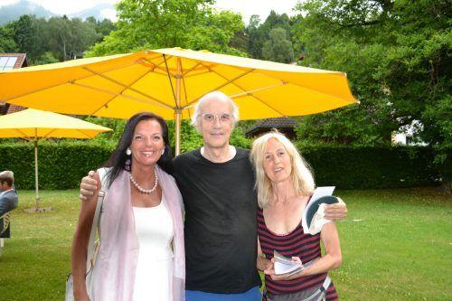 Annemarie Bitsche, Ulli Remier, Edith Maier ließen sich die Veranstaltung nicht entgehen.