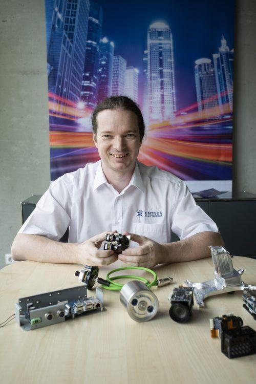 Auch Thomas Entner (Entner Electronics) gehört zu den KMU, die Großes leisten. VN/RP