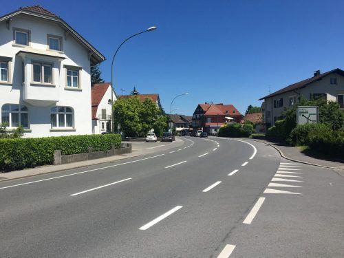 Die Lustenauer Reichsstraße ist eine Landesstraße. VN