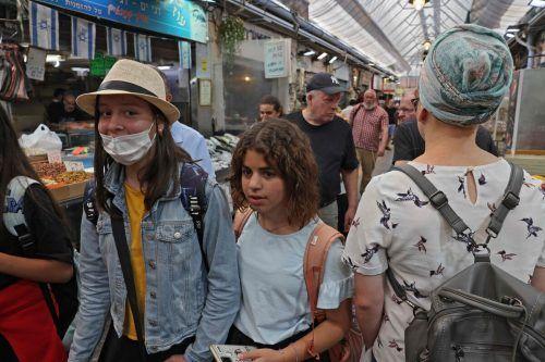 Auf diesem Markt in Jerusalem herrscht wieder reges Treiben. AFP
