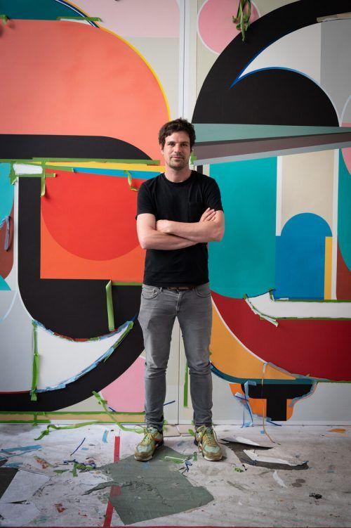 Ausstellungen führen den Vorarlberger Künstler regelmäßig in die USA.