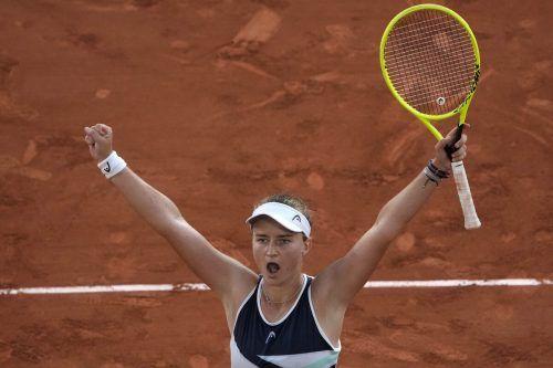 Barbora Krejcikova feierte zuletzt elf Siege in Serie. In Straßburg gewann sie die Generalprobe für die French Open.ap