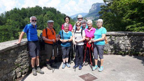 Bei traumhaftem Wetter fand der Seniorenbund-Bezirkswandertag statt.seniorenbund