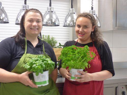 Foodbloggerin Ulrike Gstach und Sara Kapeller.