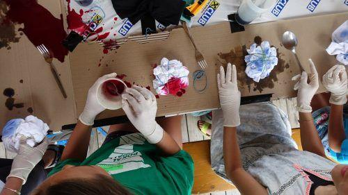 Bei verschiedenen Aktivitäten in diesem Sommer können die Lustenauer Jugendlichen kreativ werden.OJAL