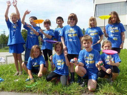 Beim Abenteuer Sportcamp können sich die Kinder in den verschiedensten Sportarten austoben. Gemeinde Nüziders