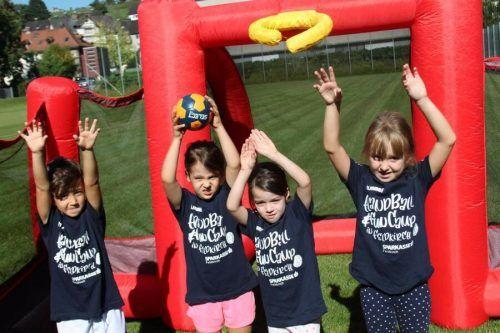 Beim Feldkircher Handballcamp kann der Nachwuchs zwischen 5 und 12 Jahren in die Sportart hineinschnuppern. Verein